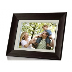 "COBY 8"" DIGITAL PHOTO FRAME WITH MULTIMEDIA PLAYBACK"